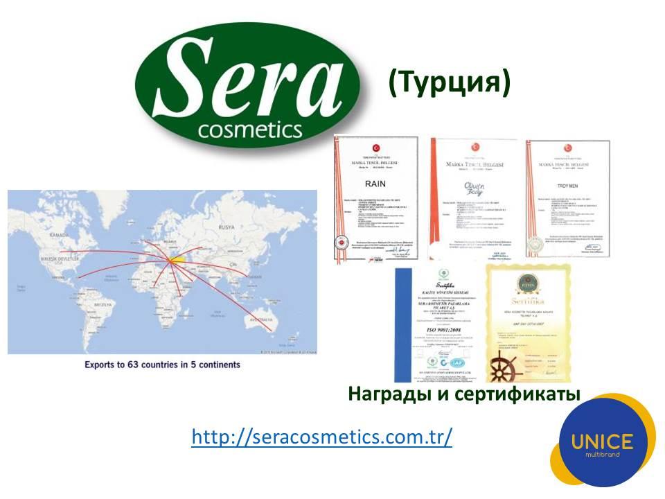 Турецкая компания Sera Cosmetics